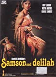 Samson And Delilah (DVD) Cecil B Demille - BY GOLDEN CLASSIC COLLECTIBLES