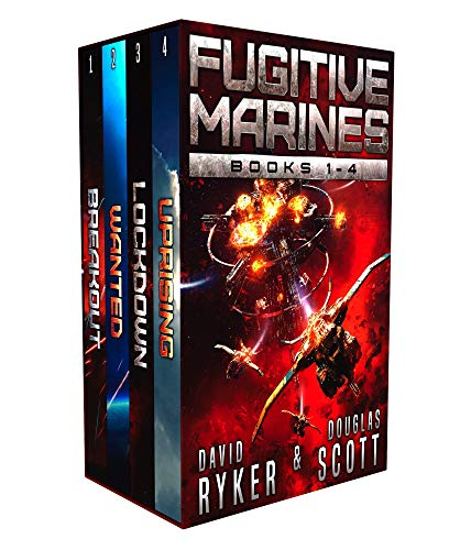 Fugitive Marines: Books 1-4 by [Ryker, David, Scott, Douglas]