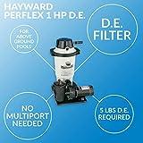 Hayward W3EC50C93S Perflex1.5 HP D.E. Filter Pump