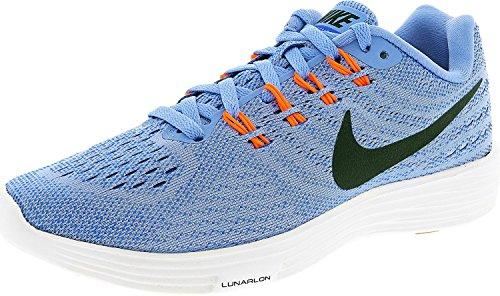 NIKE Womens Lunartempo 2 Running Shoe Chalk Blue/Black/Racer Blue/Hyper Orange E1m8MCQo