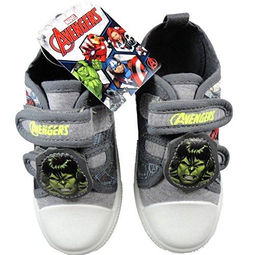 Avengers Adagdak Grey Trainers UK Size 13