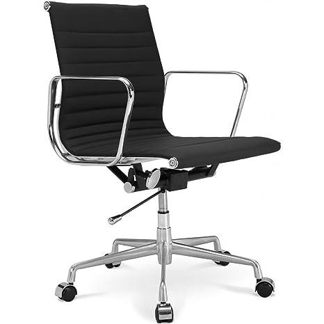 Sedia Eames Ufficio.Sedia Da Ufficio Aluminium Group Ea 117 Eames Style