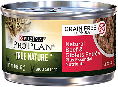 Nature Grain-Free Classic Formula Natural Beef & Giblets Entree Adult Wet Cat Food - (24) 3 Oz. Pull-Top Cans ()