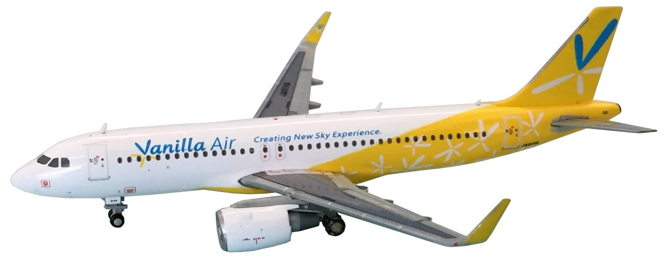 [해외]쌍둥이 자리 1400 AIRBUS A320-200 JA01VA 바닐라 어 완제품 / Gemini 1400 AIRBUS A320-200 JA01VA vanilla Air finished product