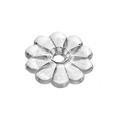 RV Designer H611, Rosette Washers with #6 Screws, Clear, 14 Per Pack, Interior Hardware: Automotive