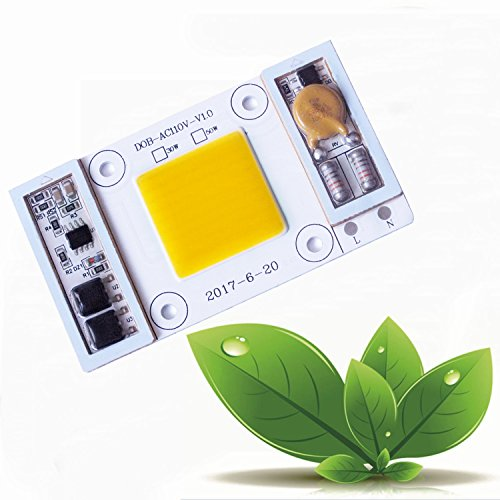 Cob LED Flood Light Bulbs Chip Waterproof - WY AC110V 50W 6000K 250W Equivalent Daylight White 5000lm Super Bright LED Floodlight Driver for Outdoor Indoor Ceiling Flood Lamp