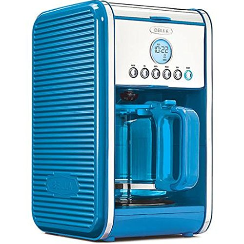 Bella Linea Collection 12-Cup Coffee Maker - Blue (Coffee Maker Blue Color compare prices)