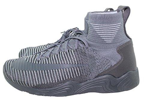Nike Zoom Mercurial Flyknit Menns Mørk Grå 844626-002 (8,5)