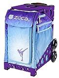 Zuca Ice Dreamz Sport Insert Bag & Purple Frame with Flashing Wheels