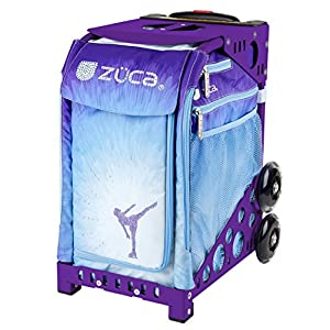 ZUCA Ice Dreamz Sport Insert Bag and Purple Frame with Built In Seat and Flashing Wheels