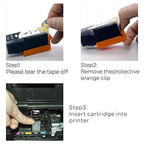 Supricolor 5 Pack Replacement Edible Ink PGI-270XL PGI 270 CLI-271XL CLI 271 for Canon MG6820 MG6821 MG682 MG5720 MG5722 MG5721 Edible Cake Printing Photo #6