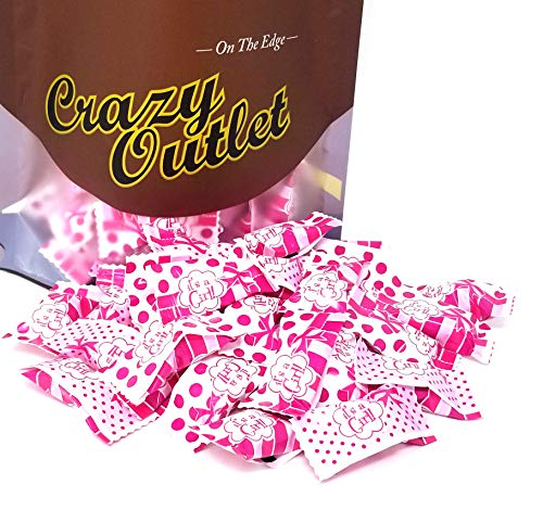 CrazyOutlet Pack - Party Sweets, Buttermints It's a Girl, Individually Wrapped Mints, 2 lbs -