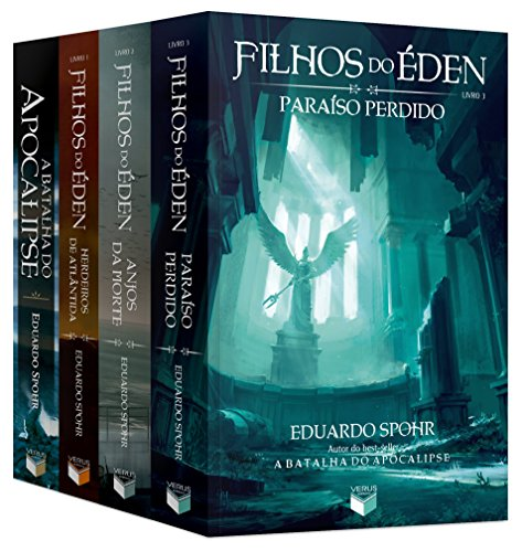 Kit Filhos do Éden + A Batalha do Apocalipse - 4 Volumes