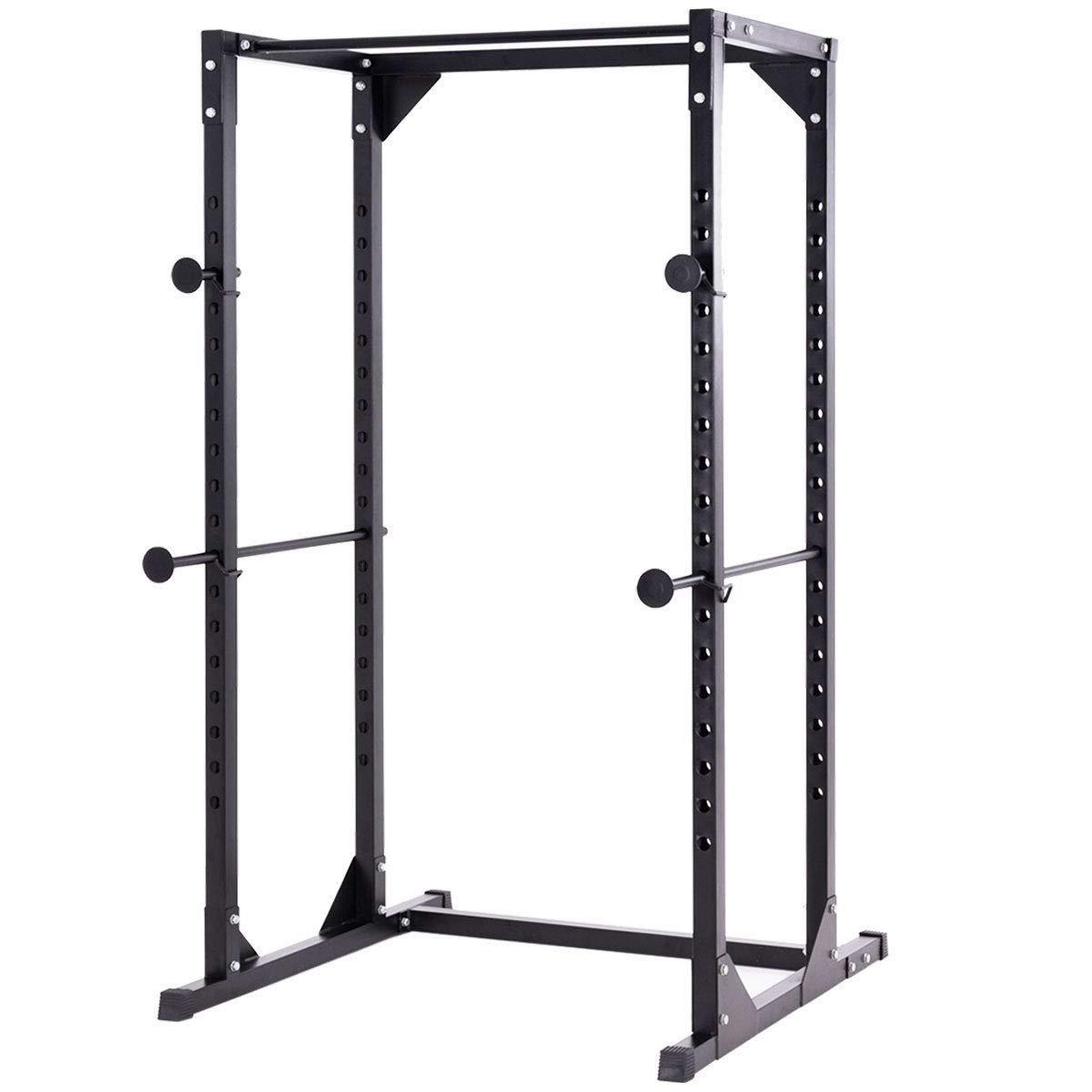 EnjoyShop → Chin up → Squat Stand → Strength → Training → Adjustable → Dumbbell Rack → Fitness → Gym → Black → Adjustable Height → Heavy Duty
