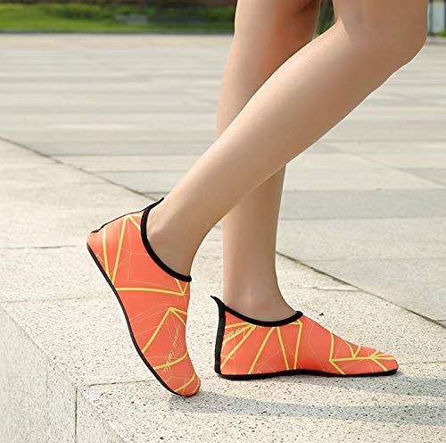 38 Homme Aquatiques Red Pour Fei Wei Rouge Chaussures Jaune Eu 5 xEq0W6I
