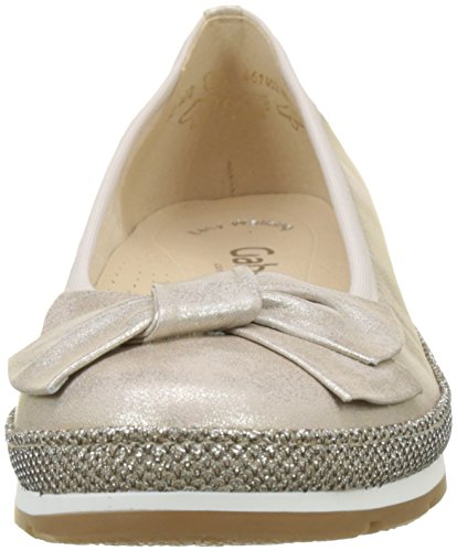 Gabor Women's Comfort Sport-82.402.63 Ballet Flat Multicolor (Platino Glamour) ohV0O