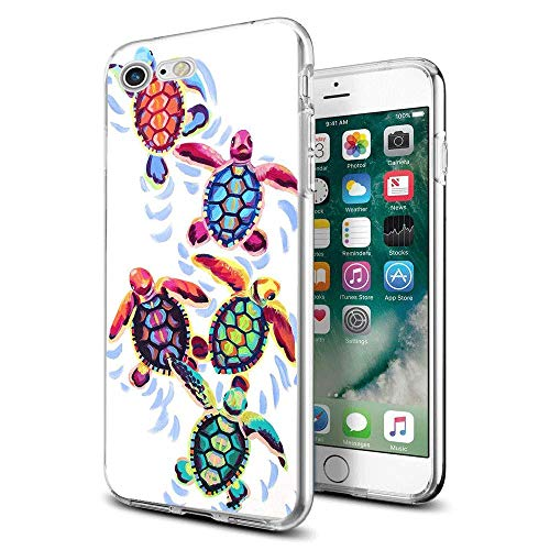 - Funny Cute Sea Turtles for iPhone 7 Case iPhone 8 Case 4.7