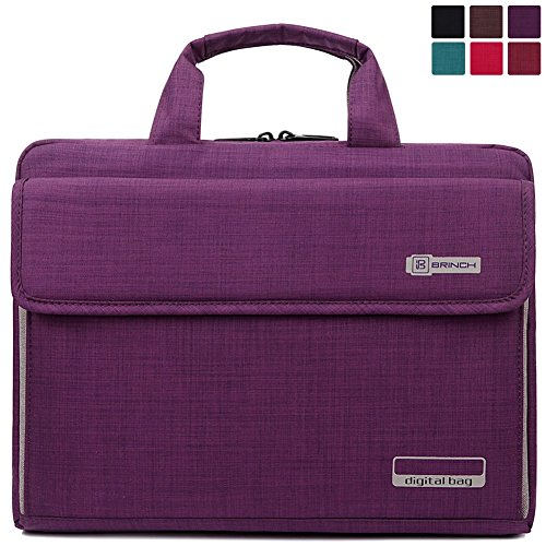 Laptop-BagBRINCH-Stylish-Fabric-Laptop-Messenger-Shoulder-Bag-Case-Briefcase-for-Laptop-Notebook-MacBook-Ultrabook-Chromebook-Computers