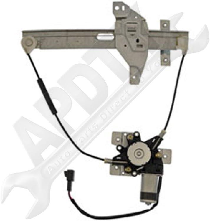 Rear Left Driver Side Power Window Regulator with Motor for Chevrolet Impala 2000-2005