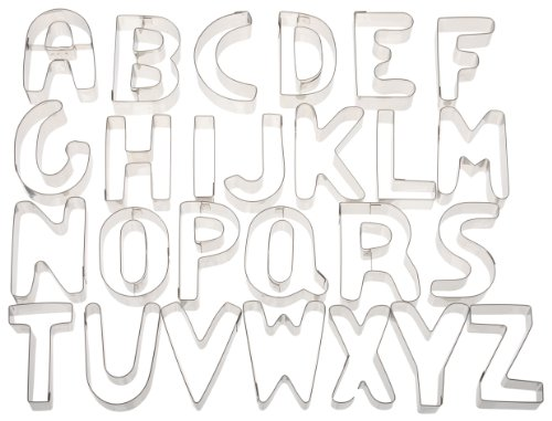 stainless steel alphabet letters - 2