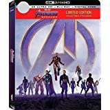 Avengers: Endgame NEW [Ltd SteelBook] 4K UHD + BLU-RAY +DIGITAL Pre-order AUGUST +Contact 77nnzar@gmail.com for ORDER
