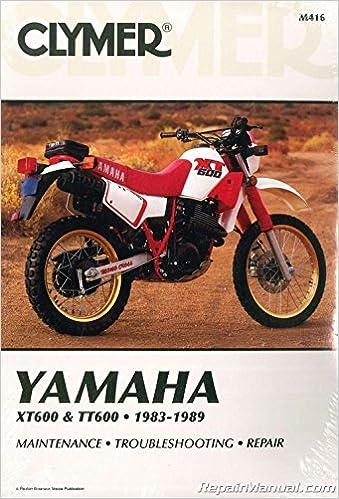 Terrific M416 1983 1989 Yamaha Xt600 Tt600 Clymer Motorcycle Repair Camellatalisay Diy Chair Ideas Camellatalisaycom