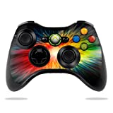 Protective Vinyl Skin Decal Cover for Microsoft Xbox 360 Controller wrap sticker skins Color Storm Review