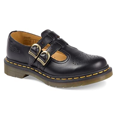 d1f9c5c09ad1 Dr. Martens 8065 Mary Jane Black Smooth 3 F(M) UK/ 5 US: Buy Online at Low  Prices in India - Amazon.in
