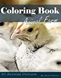 img - for Farm Animal 30 Pictures, Sketch Grey Scale Coloring Book for Kids Adults and Grown Ups: Color me Coloring Book for Mindfulness and Stress Relief Relaxation (Volume 5) book / textbook / text book