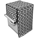 Stylista Washing Machine Cover for Front Load Bosch WAK24268IN Serie 4 7 Kg Geometric Pattern Print