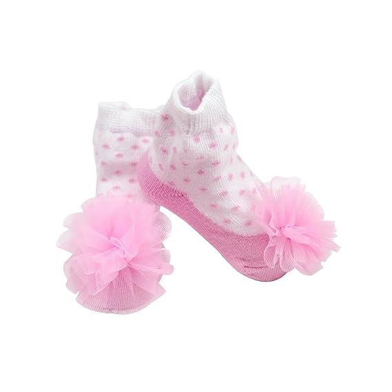 Sanlutoz Calcetines lindos del bebé recién nacido Lovely suave calcetines elásticos del tobillo
