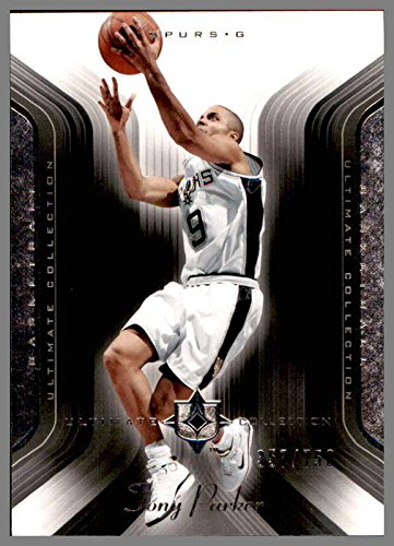 2004-05 Ultimate Collection #99 Tony Parker France SAN ANTONIO SPURS Serial #357/750 Upper ()