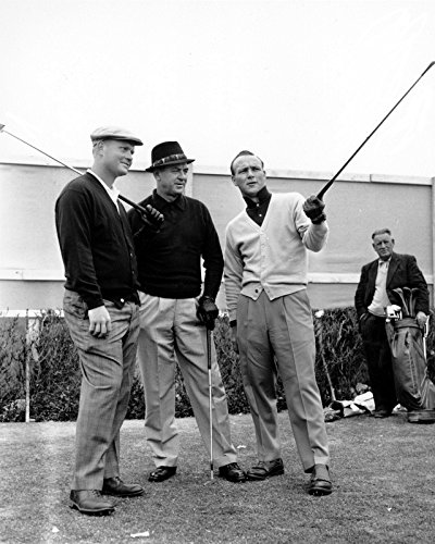 Nicklaus Photo (Jack Nicklaus Sam Snead Arnold Palmer 8 x 10 * 8x10 GLOSSY Photo Picture)
