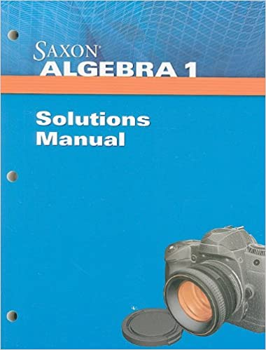 Saxon algebra 1 solution manual saxon 9781602775008 amazon books fandeluxe Choice Image
