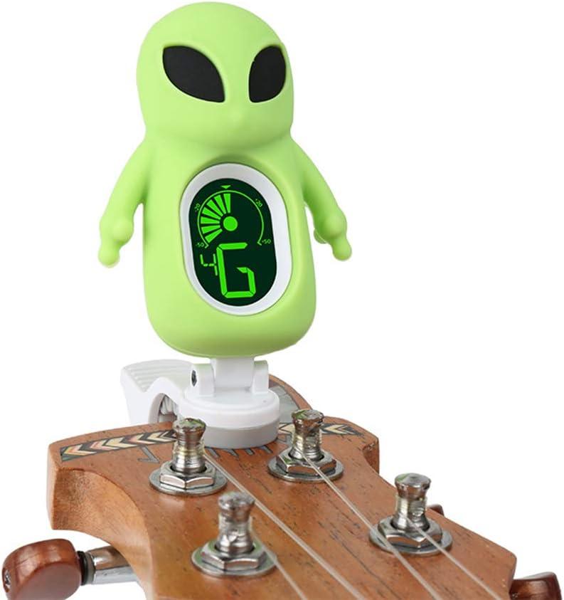 Einsgut Guitar Tuner Afinador de Guitarra alienígena con Clip de ...