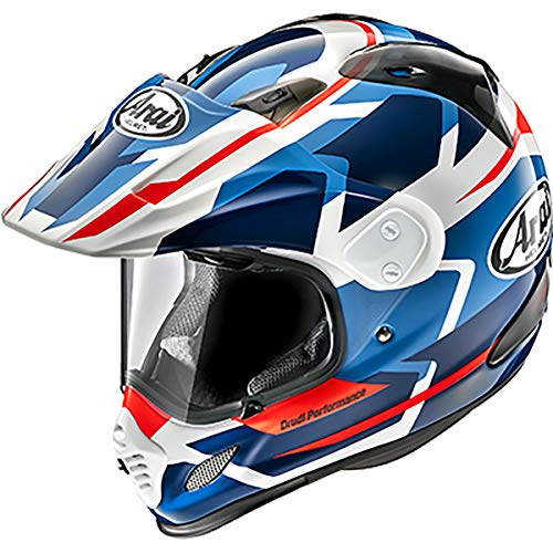 Arai XD4 Helmet - Depart (Medium) (White/Blue)