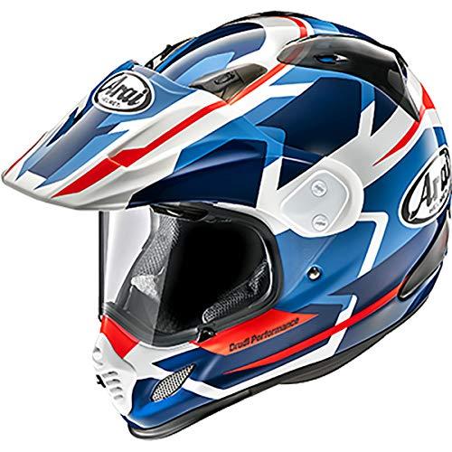 Arai XD4 Depart Adult Street Motorcycle Helmet - White/Blue/Large