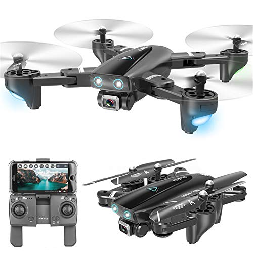 HUAXM GPS Foldable Drone, with 4K Camera for adults and beginners, 5G WiFi Optical Flow Positioning,Color box