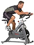Spin into shape with the top of the line Sunny Health & Fitness SF-B1516 commercial cycling bike! this bike offers all of the necessities for an intense yet enjoyable cycling workout at the gym or at the comfort of your own home. With a newly imp...