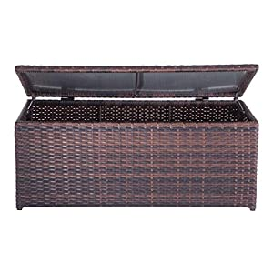 51SHPUbaPdL._SS300_ Wicker Benches & Rattan Benches