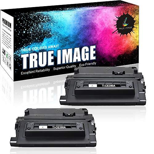 True Image Compatible Toner Cartridge Replacement for HP CE390A 90A 90X CE390X Toner HP Laserjet Enterprise 600 M602 M601 Toner M4555 M602dn M602n M602x M603dn M603n M4555f M4555h Printer (2 - Hp M602n Enterprise Laserjet 600