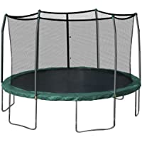 Skywalker Trampolines 15-Feet Round Trampoline and Enclosure (Green)