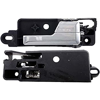Amazon.com: APDTY 92814 Interior Door Handle Rear Right Chrome Fits ...