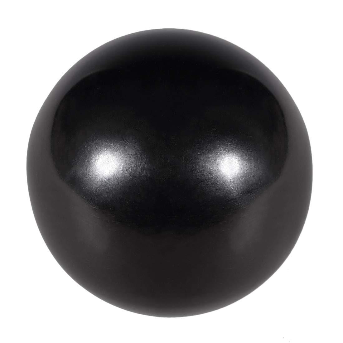 5 Pieces M6 thermoset Ball knob Female Thread Machine Handle 25 mm Diameter Smooth Edge Black