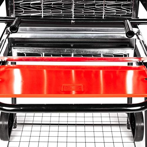 Somagic Barbecue à Charbon Vertical Retournement Grille, Gris JBQ1305006