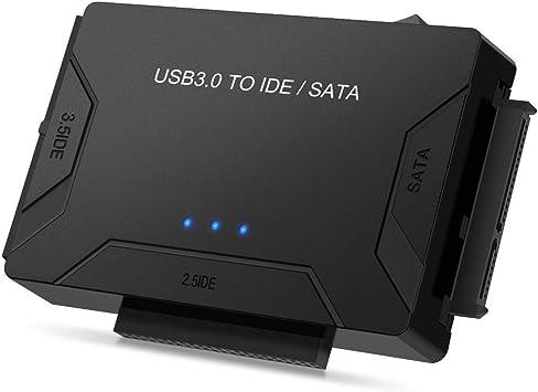 YiYunTE - Adaptador USB 3.0 a IDE/SATA para Disco Duro de 2,5