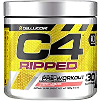 Cellucor C4 Ripped Pre Workout Powder Cherry Limeade | Creatine Free + Sugar Free...
