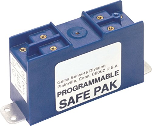 Gems Sensors 54825 Programmable Safe-Pak Relay, 95 to 125 VAC Voltage by Gems Sensors