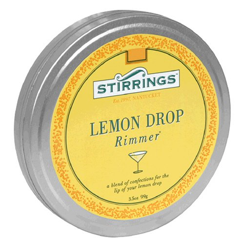 Stirrings Lemon Drop Drink Rimmer, 3.5-Ounce Tin (Pack of 6)