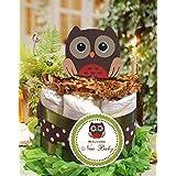 Forest Friends Woodland Creatures OWL mini diaper cakes...